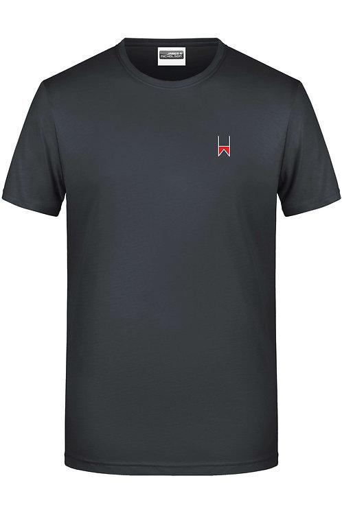 """Männer-Shirt: """"H und W"""""""