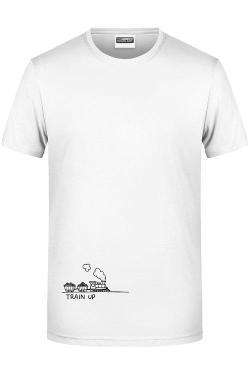"""Männer-Shirt: """"Train Up!"""""""