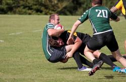 Amesbury Rugby Club - Tackle hard