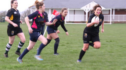 Amesbury Ladies Rugby team