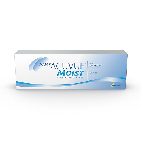 Acuvue 1-Day Moist - Box of 30 Lenses
