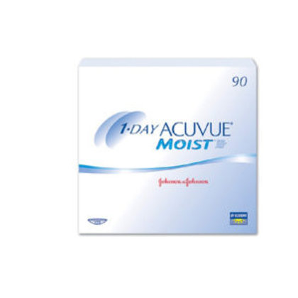 Acuvue 1-Day Moist - 360 Lenses (Four 90-Packs)