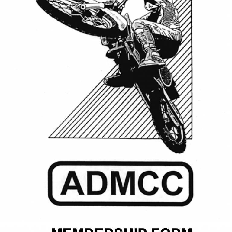 ADMCC MEMBERSHIP FORM 2021