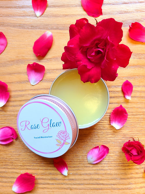 Rose Glow Facial Moisturizer, 1oz