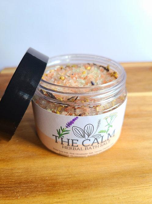The Calm Herbal Bath Salt - 4oz