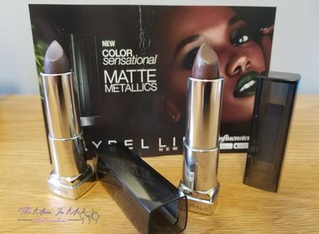 Maybelline Matte Metallics Voxbox from Influenster