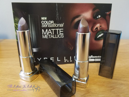 Maybelline Matte Metallics Voxbox from Influenster