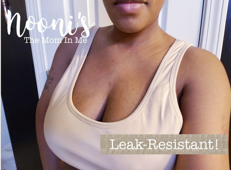 Nooni's Leak-Resistant Nursing Bra