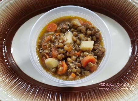 Toddler Friendly Lentil Stew