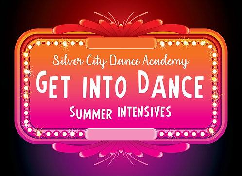 GET INTO DANCE SUMMER INTENSIVES