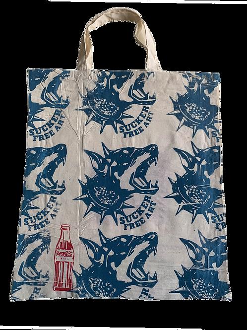 'Water Blue' Tote Bag