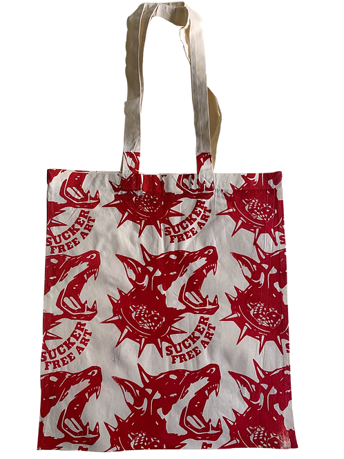 """""""Fire Red"""" Tote Bag"""