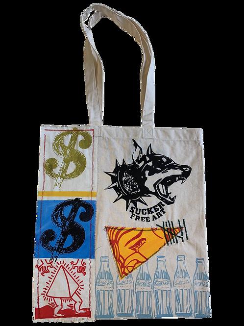 """""""Pop Art"""" Tote Bag #7"""