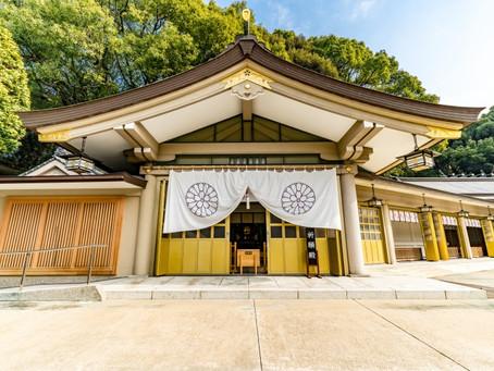 福岡護国神社さま エアリス 抗菌・抗ウイルスコーティングを施工しました。