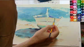 Online Watercolor Courses (New!)