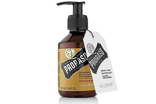 Beard Wash - Wood & Spice | PRORASO