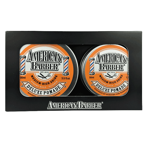Duo Pack - Deluxe Pomade | AMERICAN BARBER