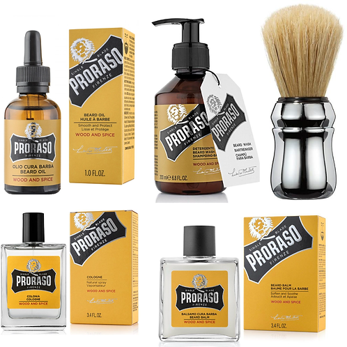 Deluxe Beard + Shave Pack
