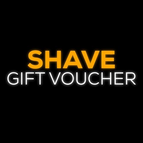 Shave Gift Voucher