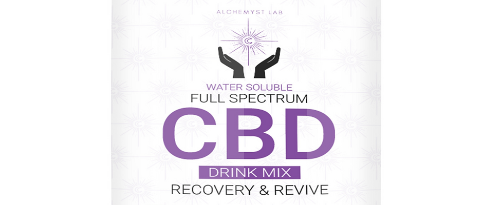 Recovery & Revive Water Soluble Full Spectrum Drink Mix