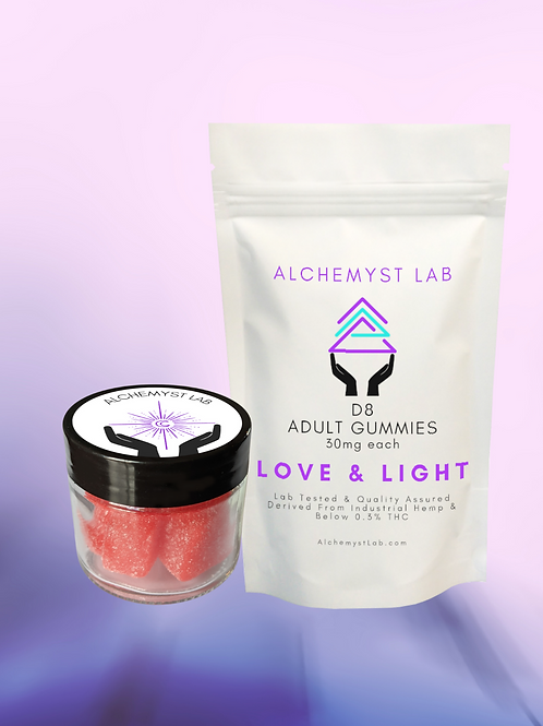 Delta 8 THC Gummies - Love and Light