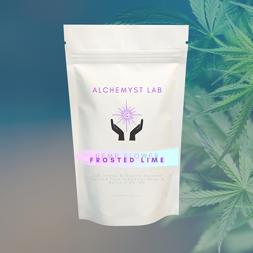 Frosted Lime Hemp Flower