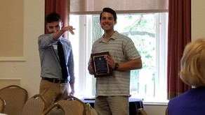 Jake wins best graduate student paper of 2019!
