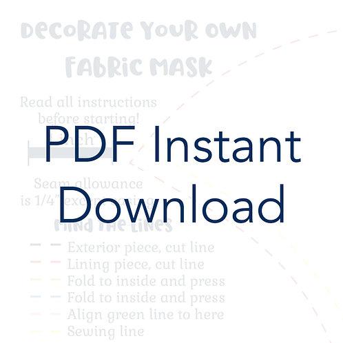 Face Mask Pattern