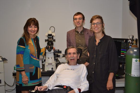 Dax family at confocal dedication