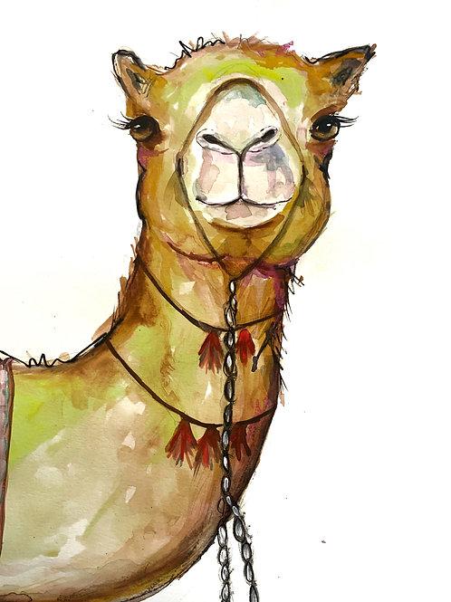 """""""Camel Watercolor"""""""
