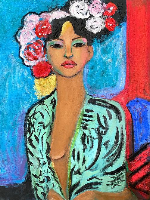"""""""Flowers in her hair"""""""