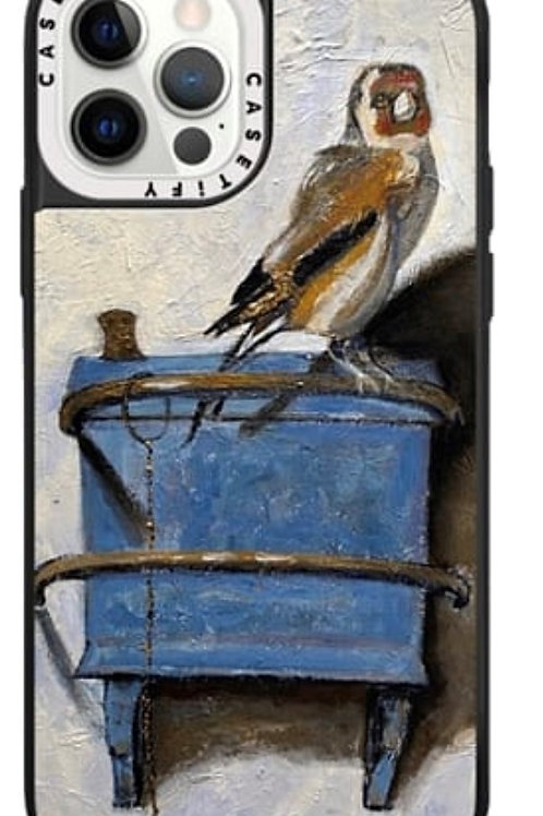 """"""" Goldfinch, Unleashed"""" iPhone Case"""