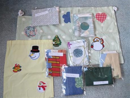 Small Fabric Drawstring Bags