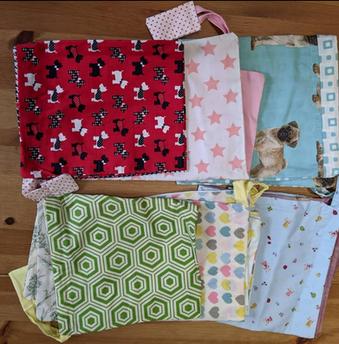 Medium Fabric Drawstring Bags
