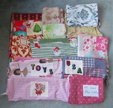Large Fabric Drawstrings