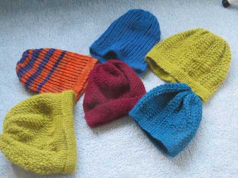 Knitted Woolly Hats