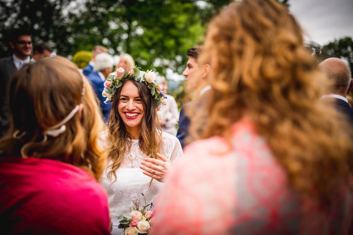 briadmaid at Llechwen Hall Wedding