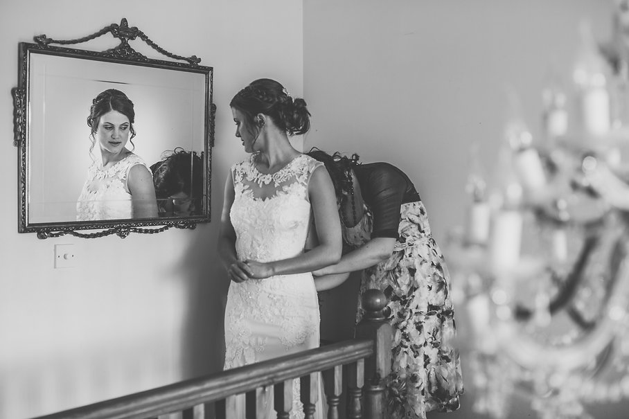Bride at Holms House Wedding