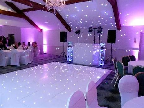 Wedding DJ at Coed Y Mwstwr