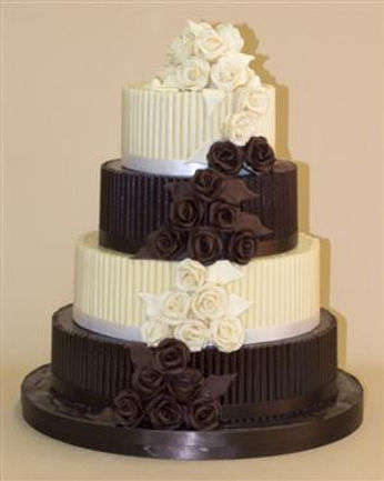 buy a chocolate wedding cakes in cardiff