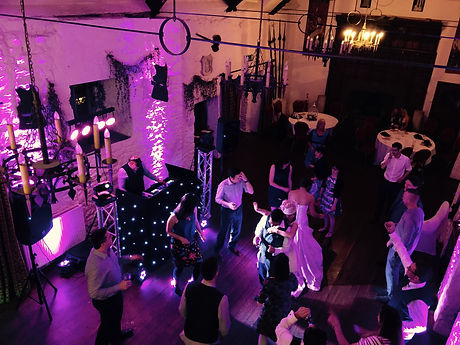 Disco at Miskin Manor