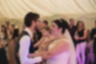 Bride and groom at craig y nos Wedding