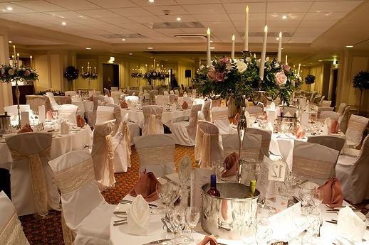 Celtic manor wedding party