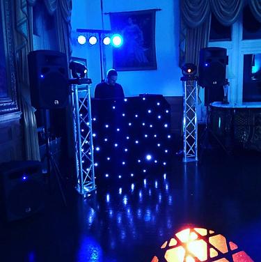 Disco at Craig Y Nos Castle