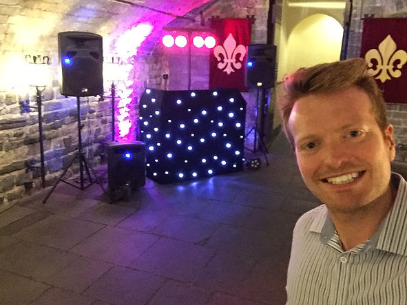 Cardiff Castle wedding disco