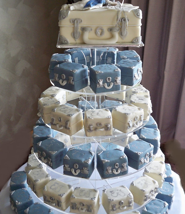 different types of wedding cakes