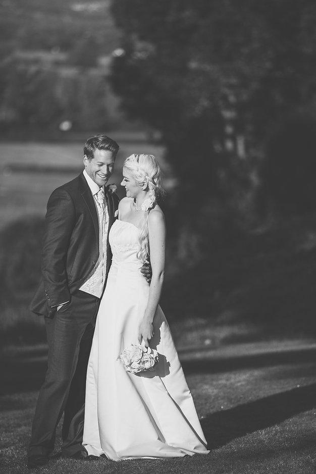 bridal party at Cardiff caslte Wedding