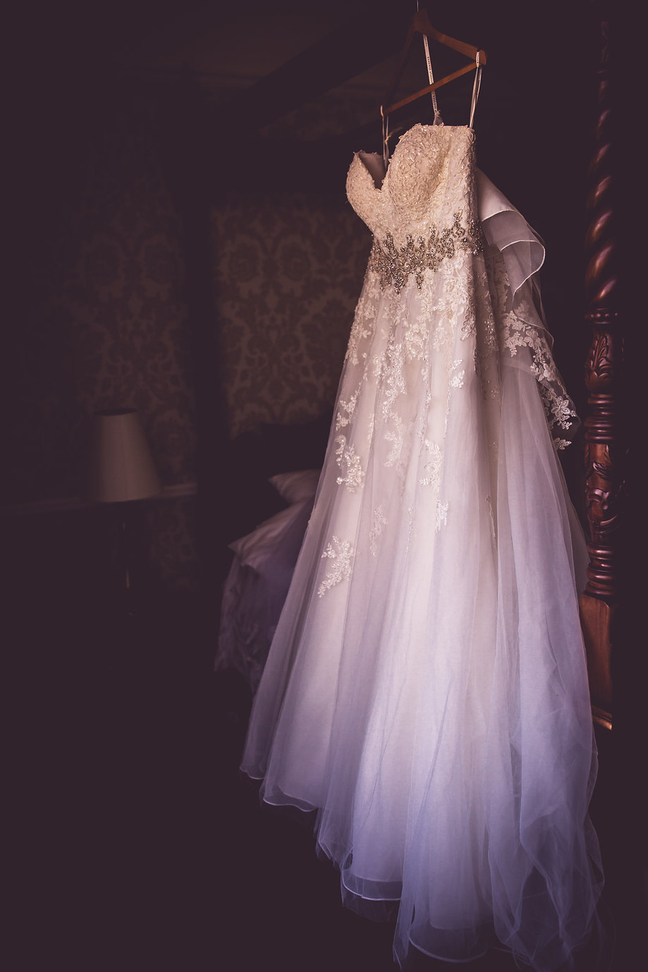 dress at millenium wedding