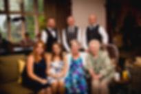 guest at Children at Llansantffraed Court Wedding