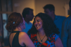 Chatting at a Joylons Wedding